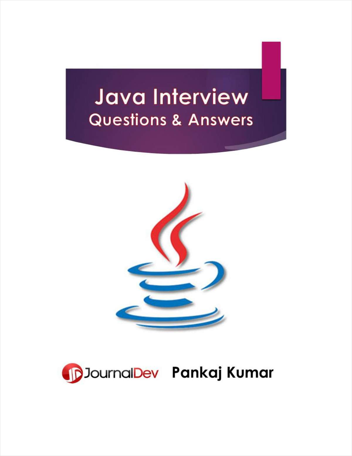 java interview questions and answers journal dev ebook