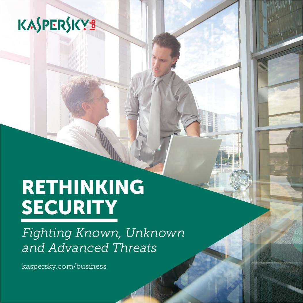 Rethinking Security: Fighting Known, Unknown and Advanced Threats