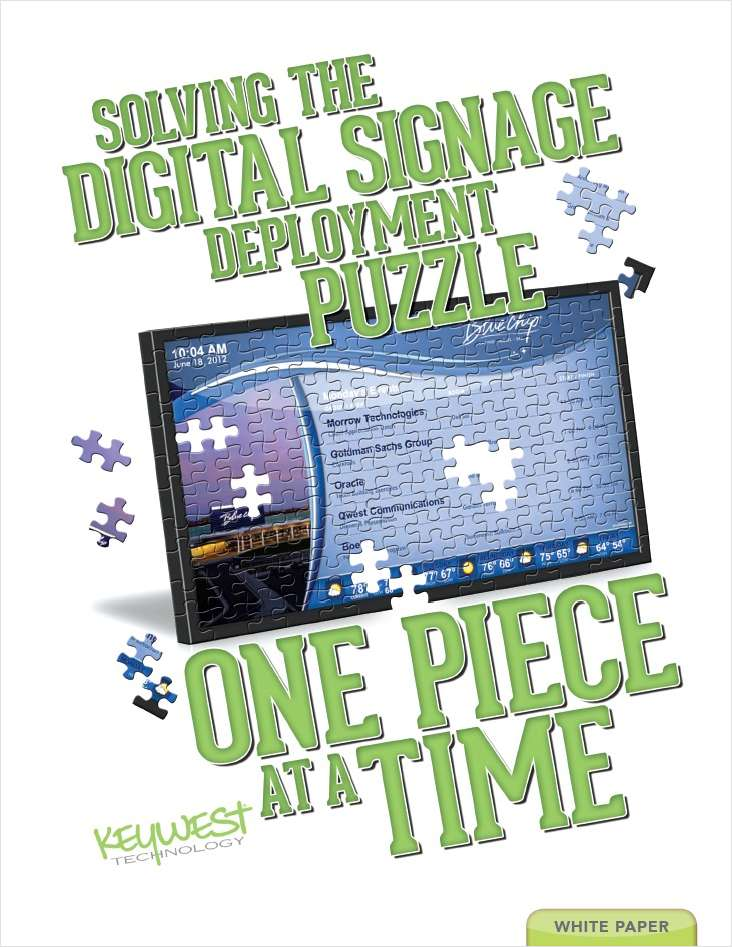 Useful Tips To Deploying Digital Signage Successfully