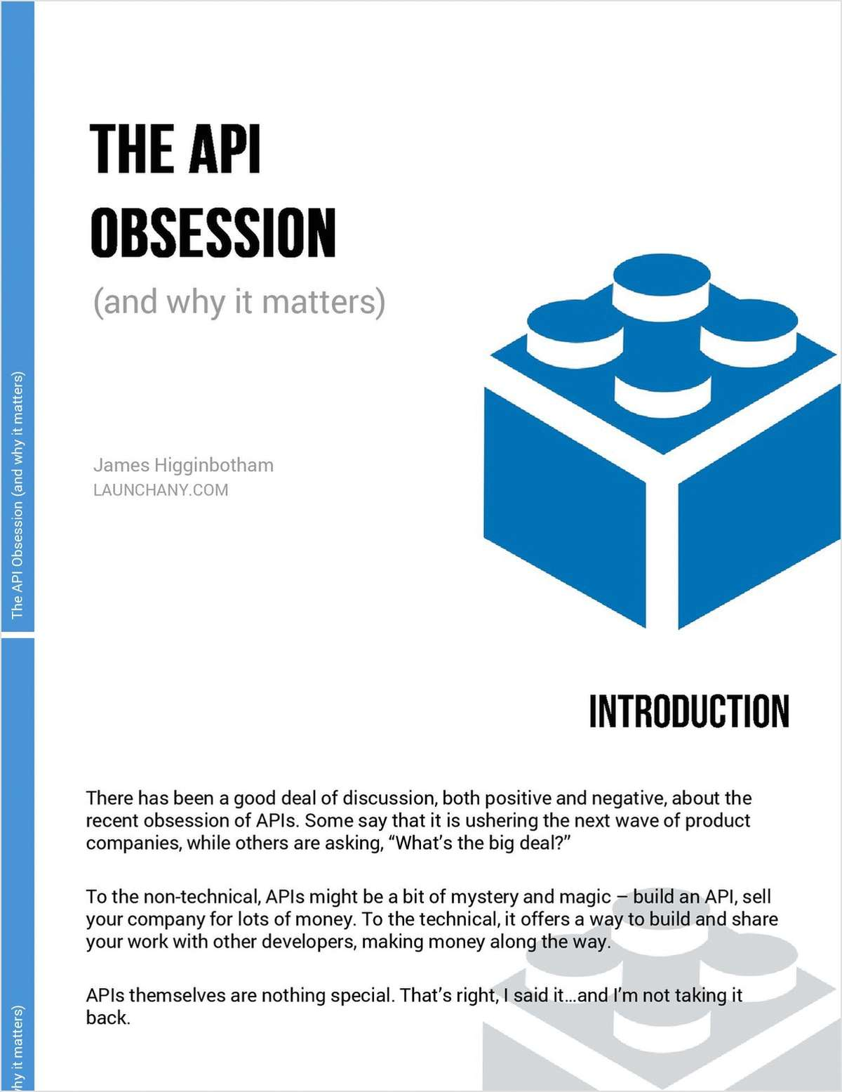 The API Obsession