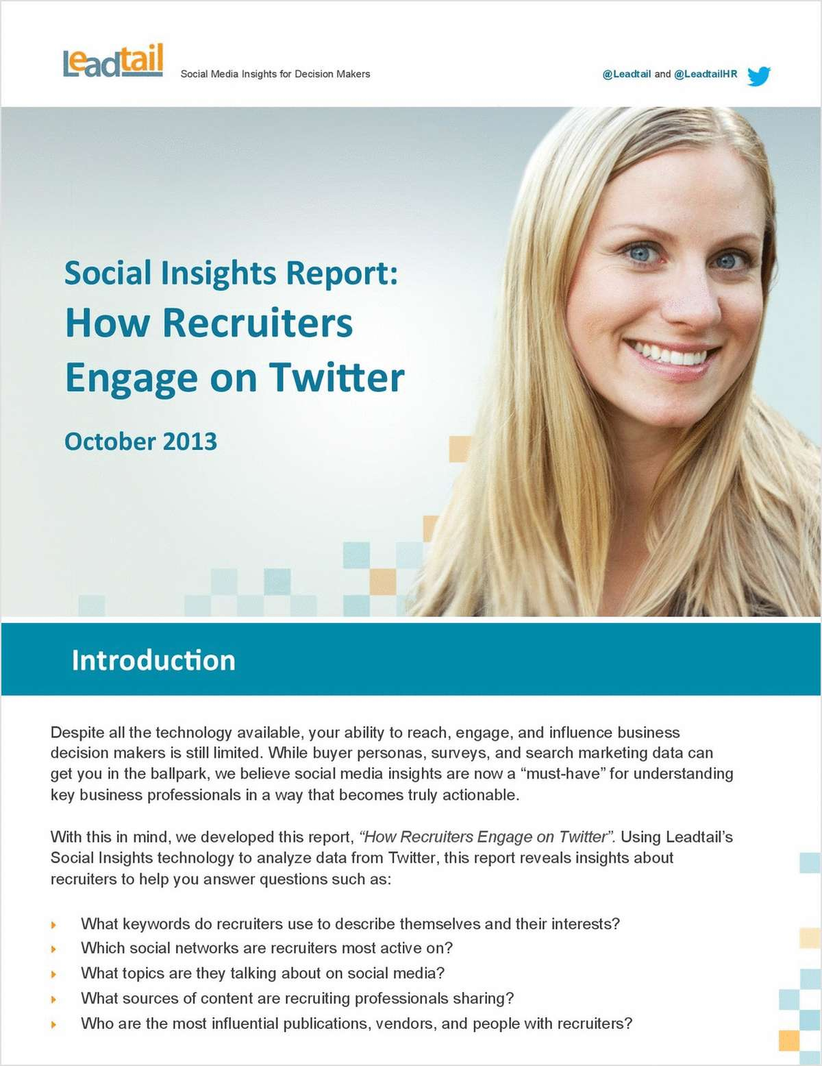 Social Insights Report: How Recruiters Engage on Twitter