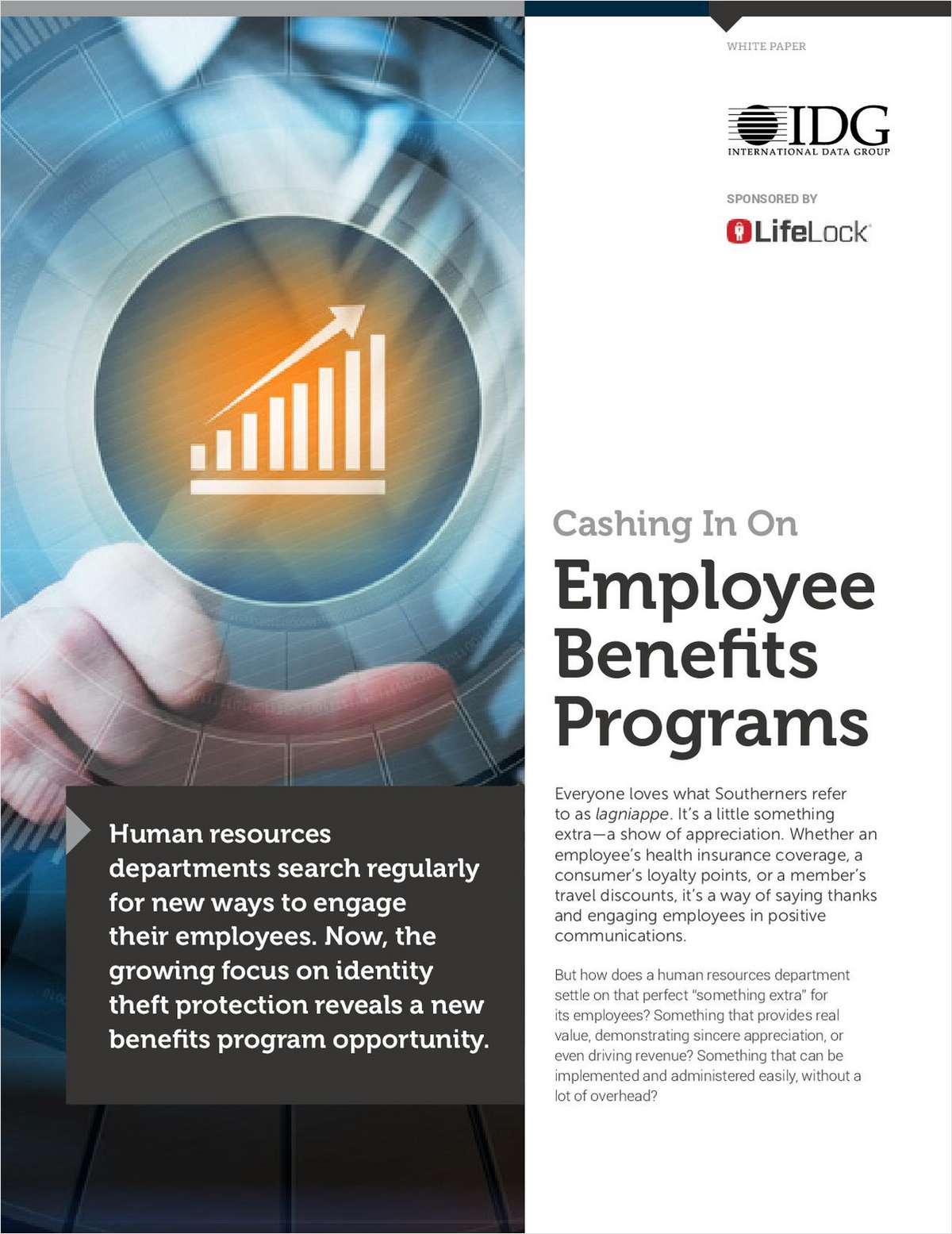 Cashing in on employee benefit programs request your free white paper