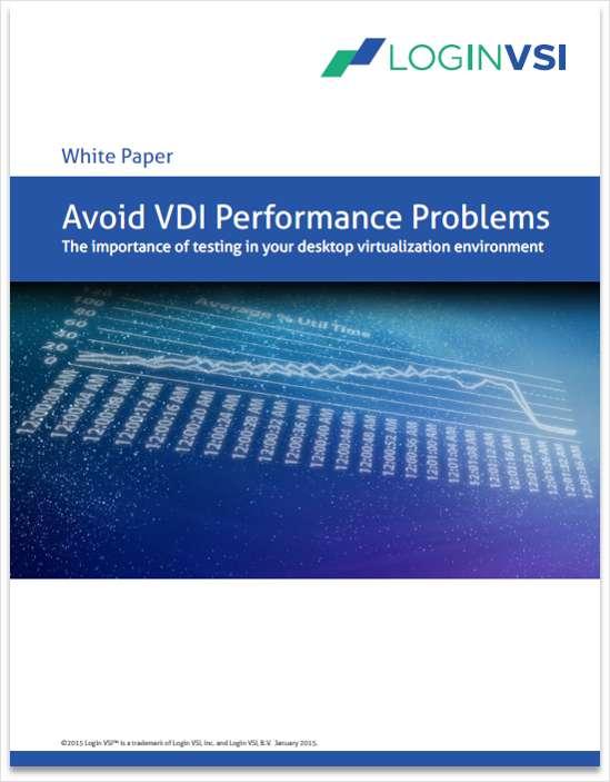 Avoiding VDI Performance Problems