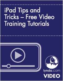 iPad Tips and Tricks – Free Video Training Tutorials
