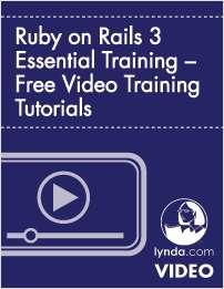 Ruby on Rails 3 Essential Training – Free Video Training Tutorials