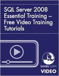 SQL Server 2008 Essential Training – Free Video Training Tutorials