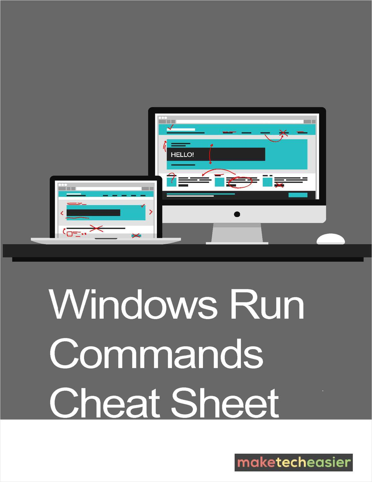 Windows Run Commands Cheat Sheet