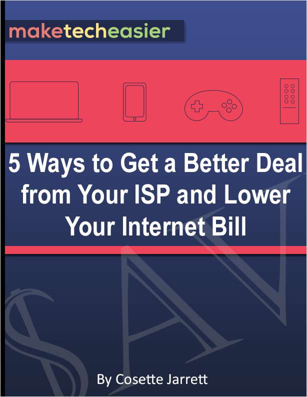 5 Ways to Get a Better Deal from Your ISP