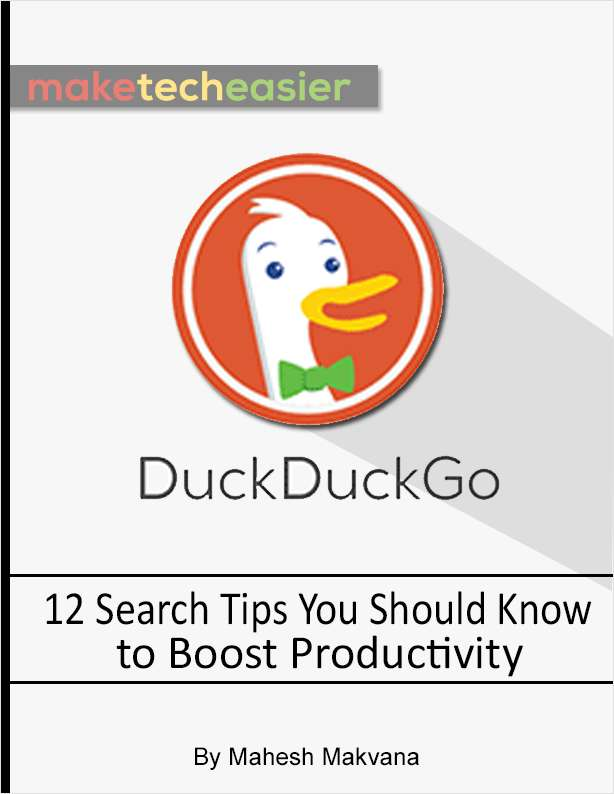 12 DuckDuckGo Search Tips You Should Know to Boost Productivity