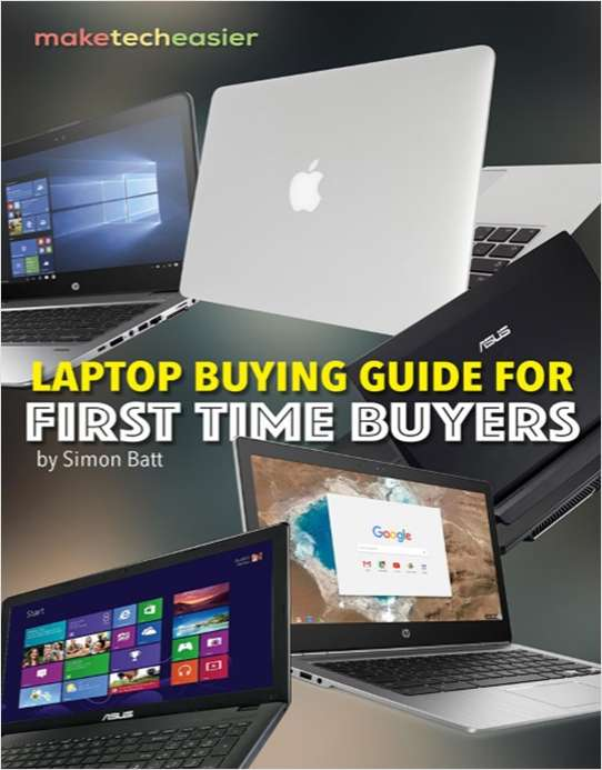 Laptop Buying Guide for First Time Buyer