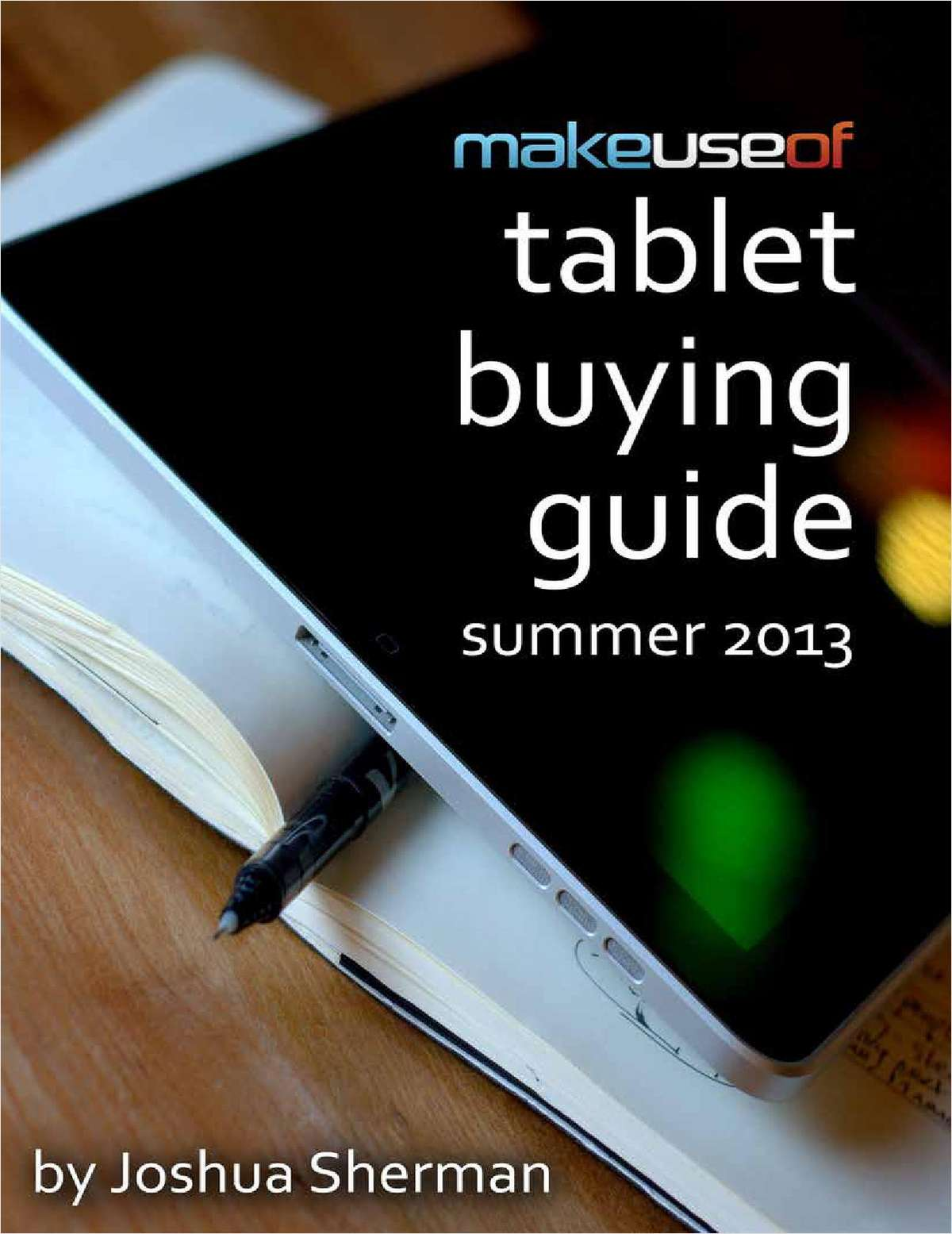 Tablet Buying Guide 2013
