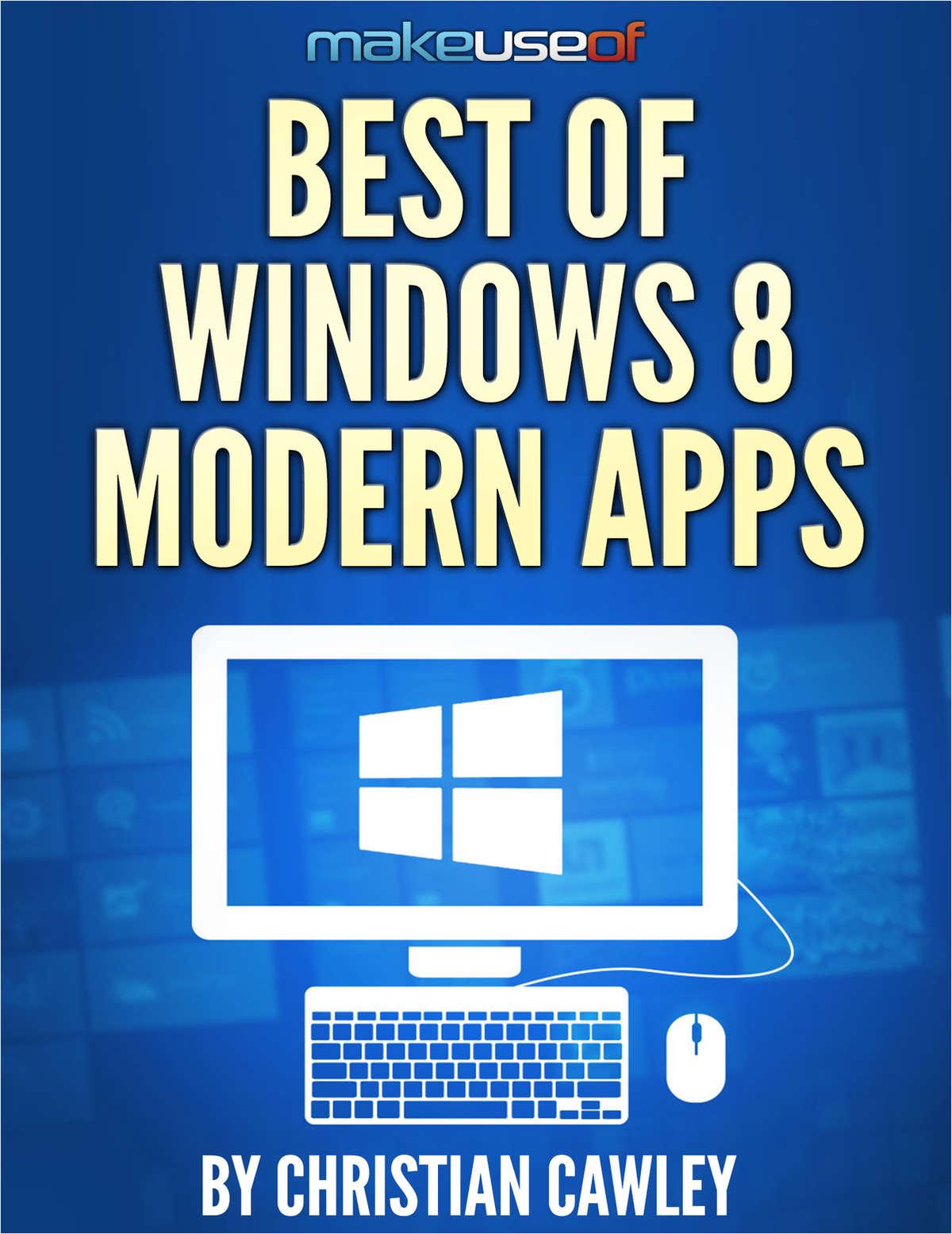 Best of Windows 8 Modern Apps