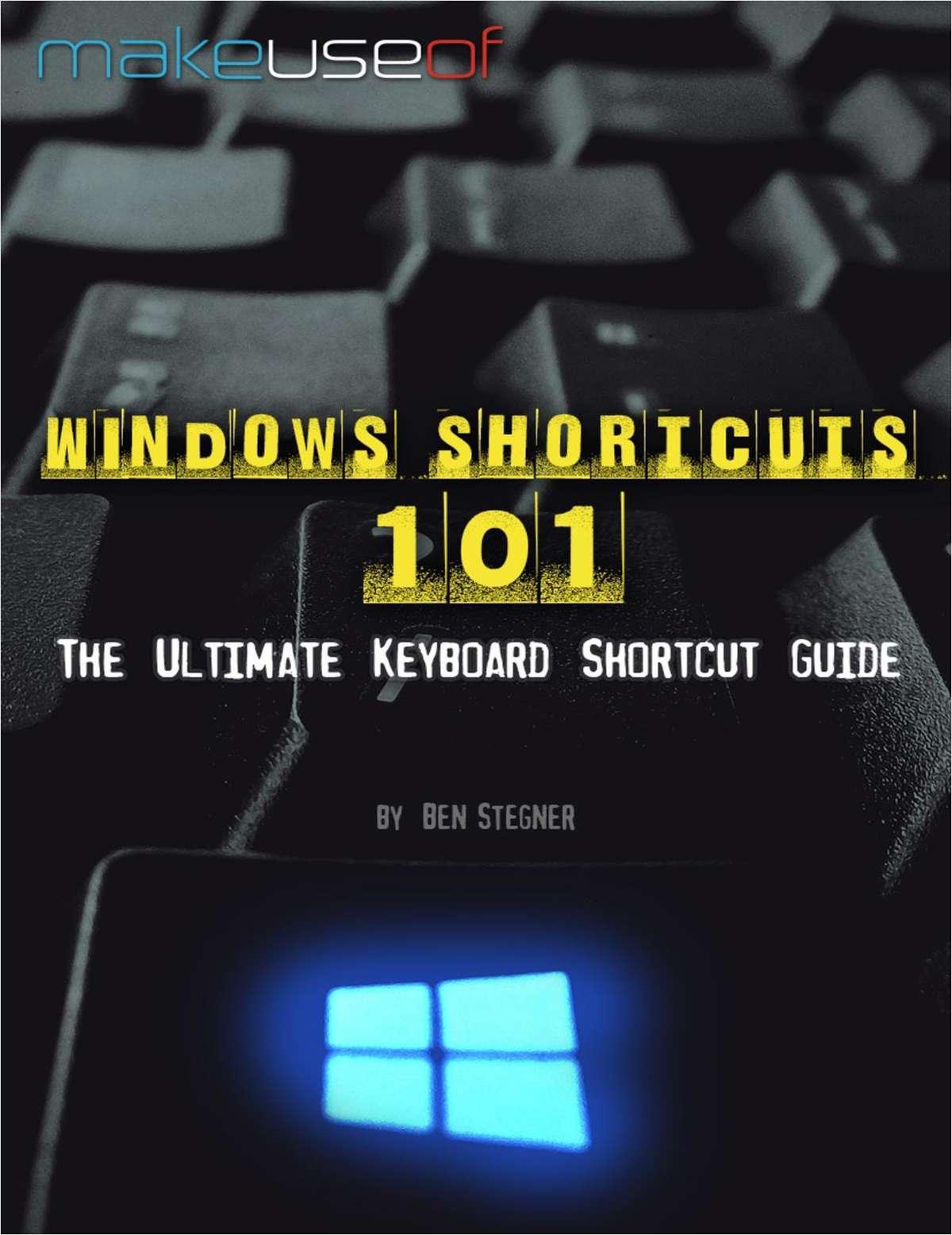 Windows Shortcuts 101: The Ultimate Keyboard Shortcut Guide