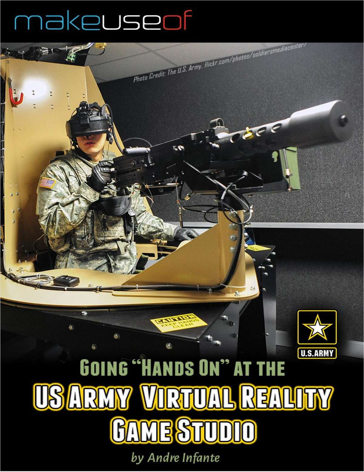 Going 'Hands On' At the US Army Virtual Reality Game Studio