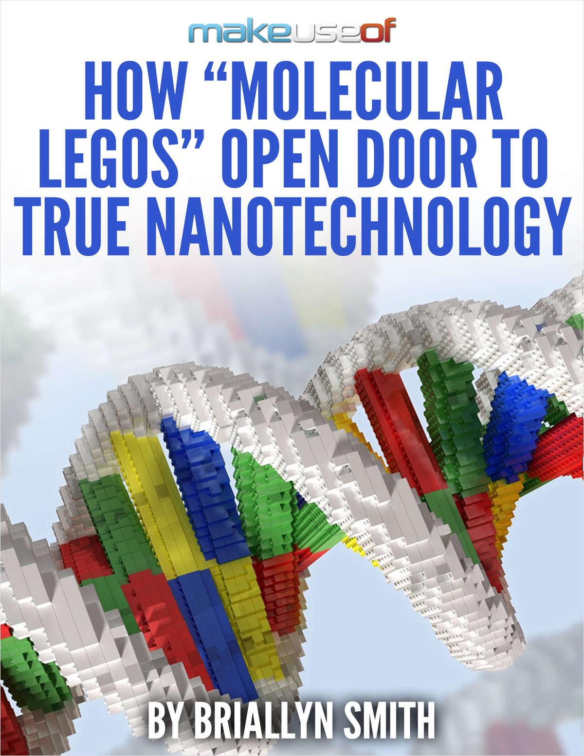 How 'Molecular Legos' Open Door to True Nanotechnology