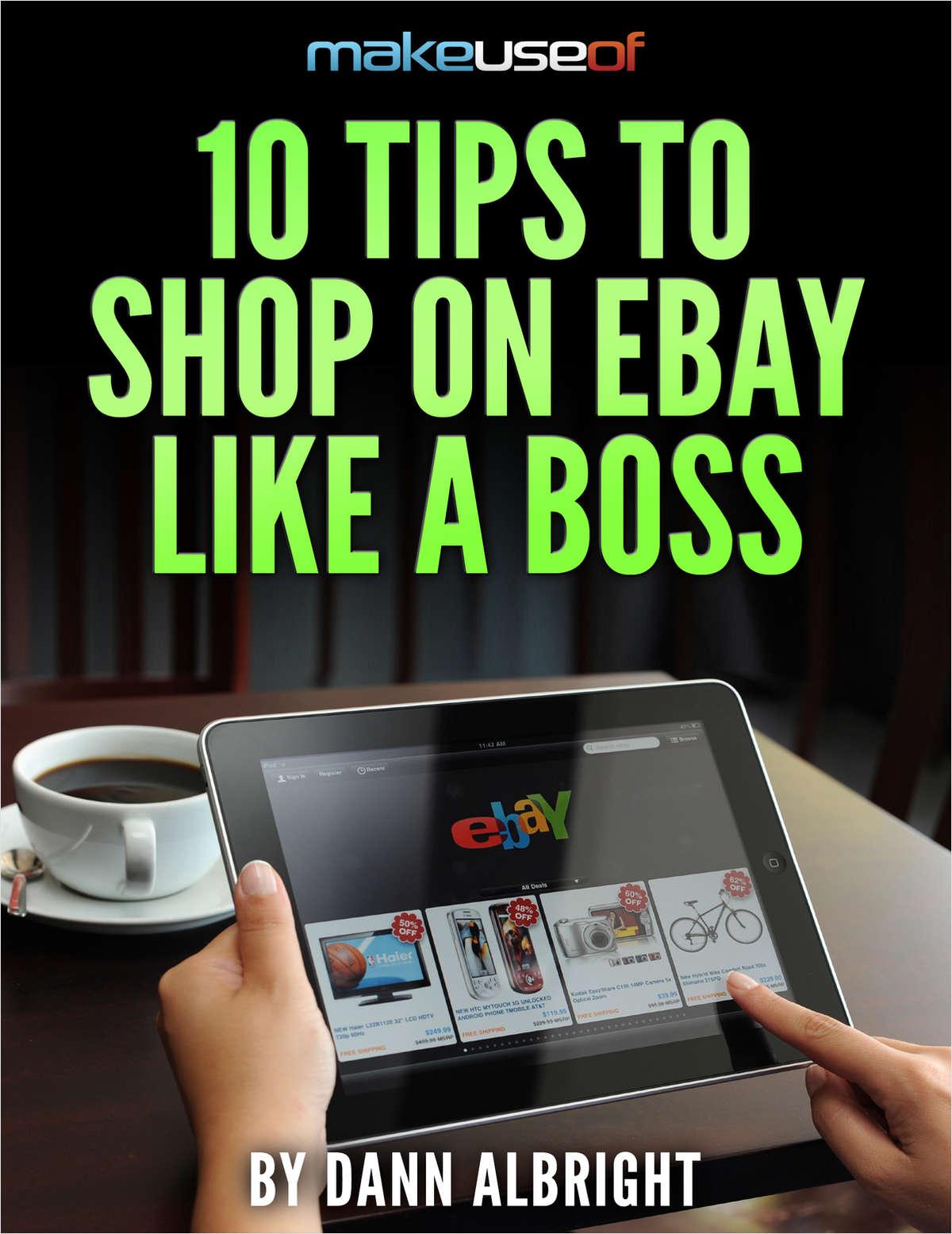 10 Tips to Shop on eBay Like a Boss