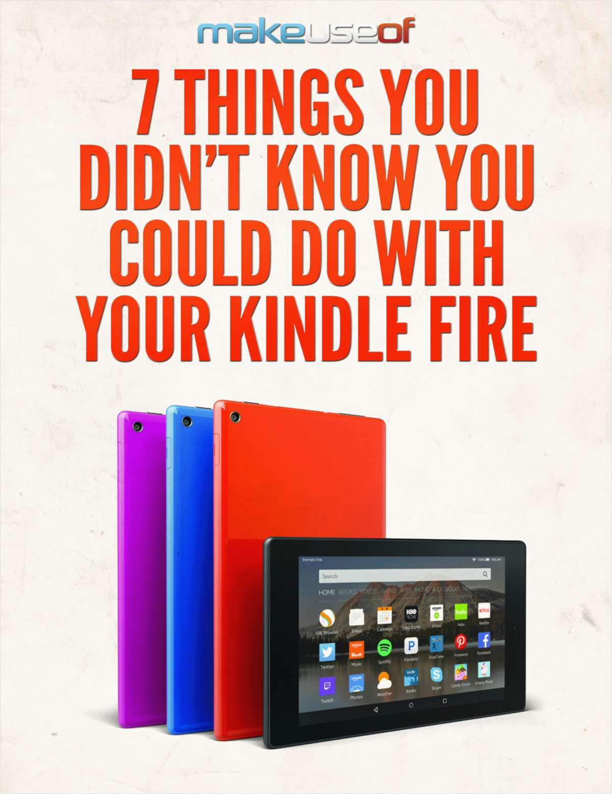 7 Things You Didn't Know You Could Do with Your Kindle Fire