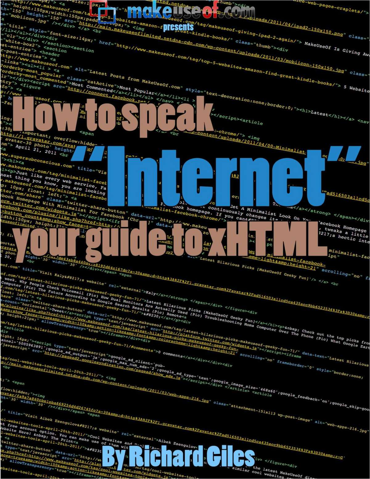 Learn To Speak Internet: Guide to xHTML