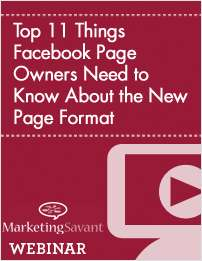 Top 11 Things Facebook Page Owners Need to Know About the New Page Format