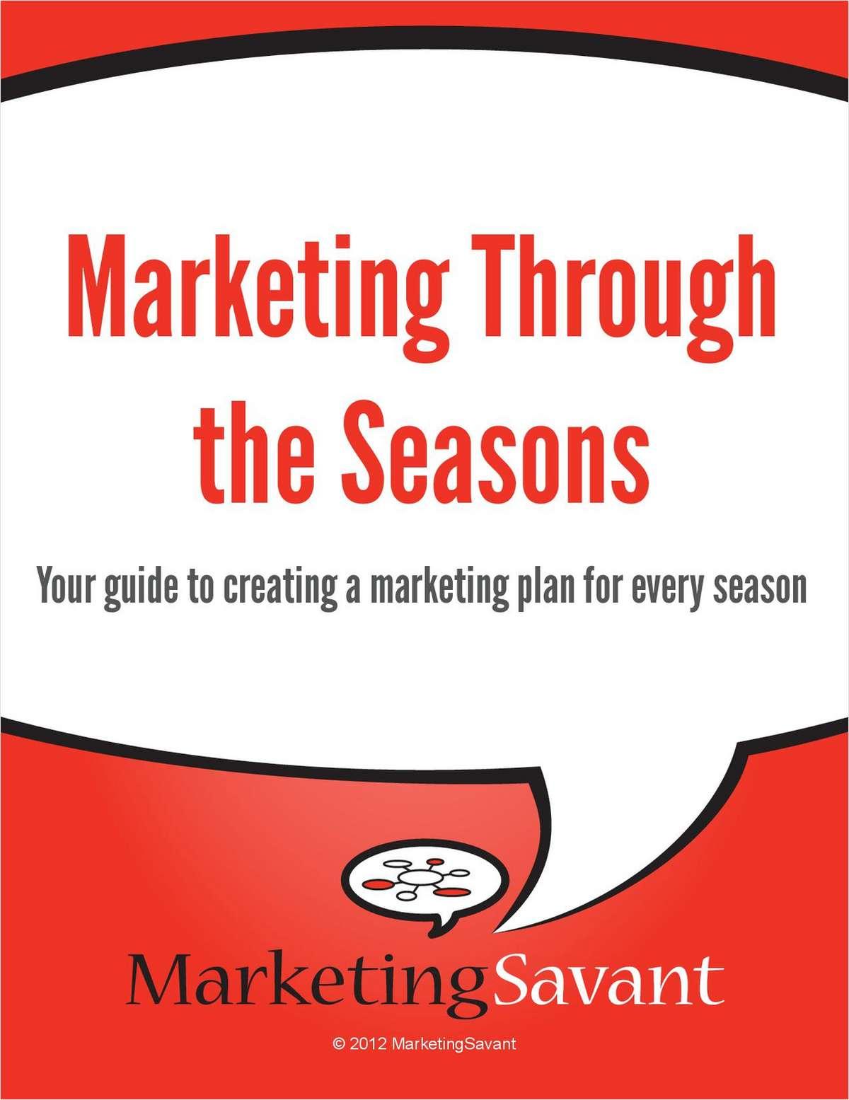 Marketing Through the Seasons