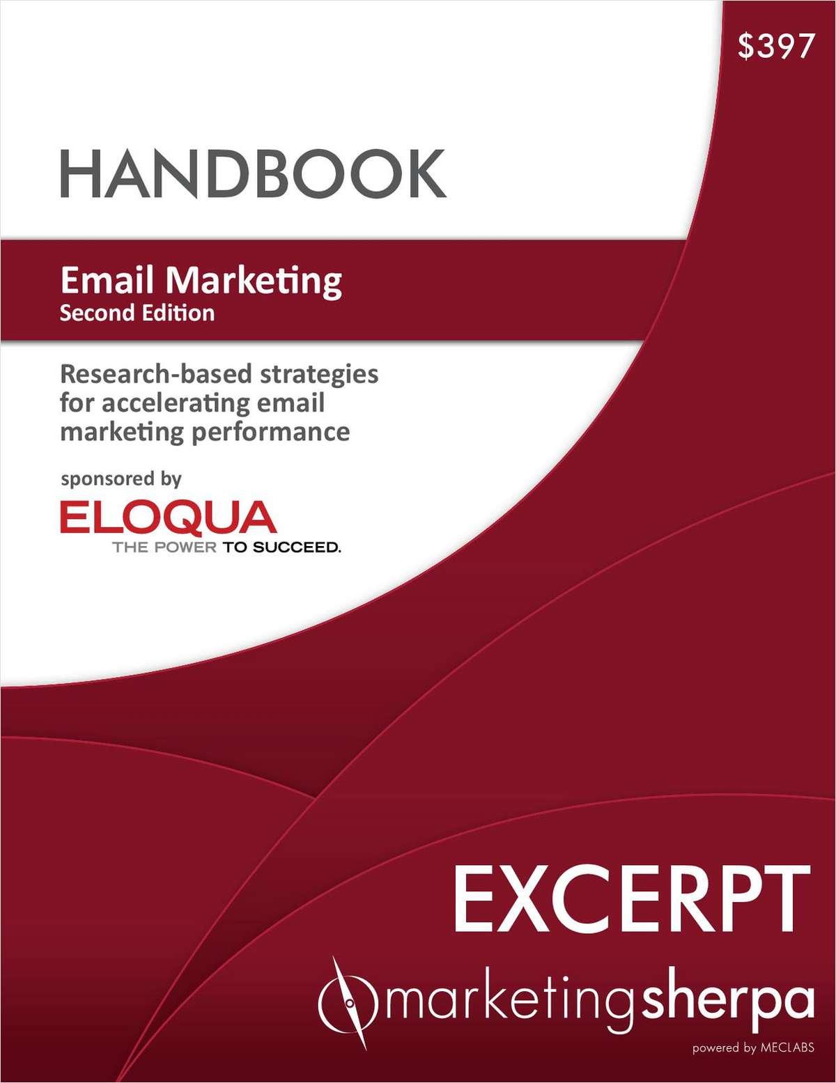 Email Marketing Handbook: Second Edition--Free Excerpt