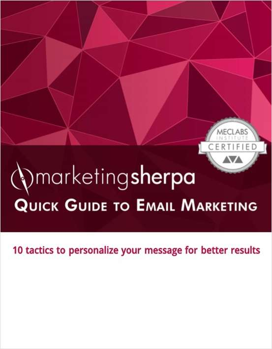 quick guide to email marketing free marketingsherpa eguide