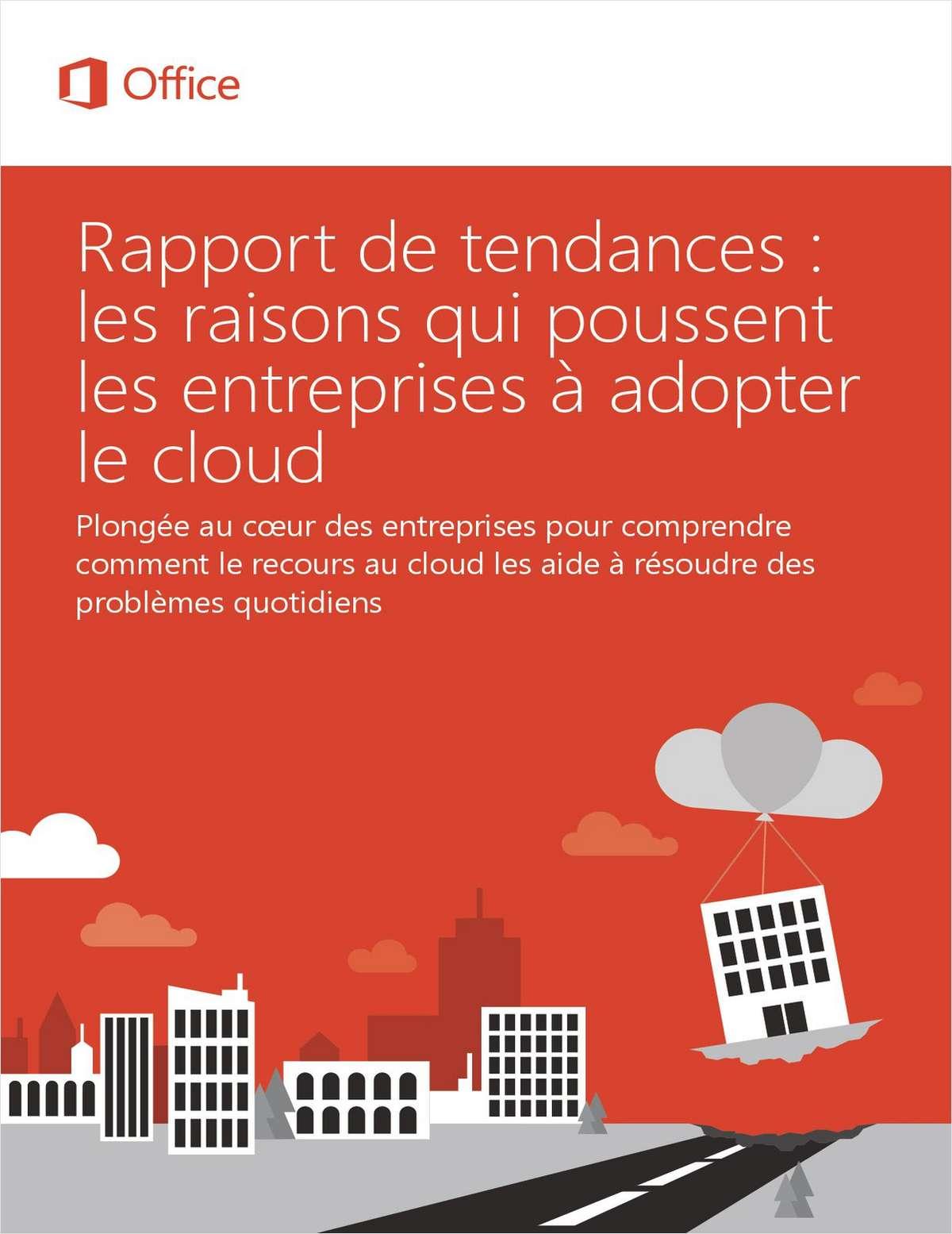 Découvrez les raisons pour lesquelles un nombre toujours plus grand d'entreprises réussisent leur transition vers le cloud