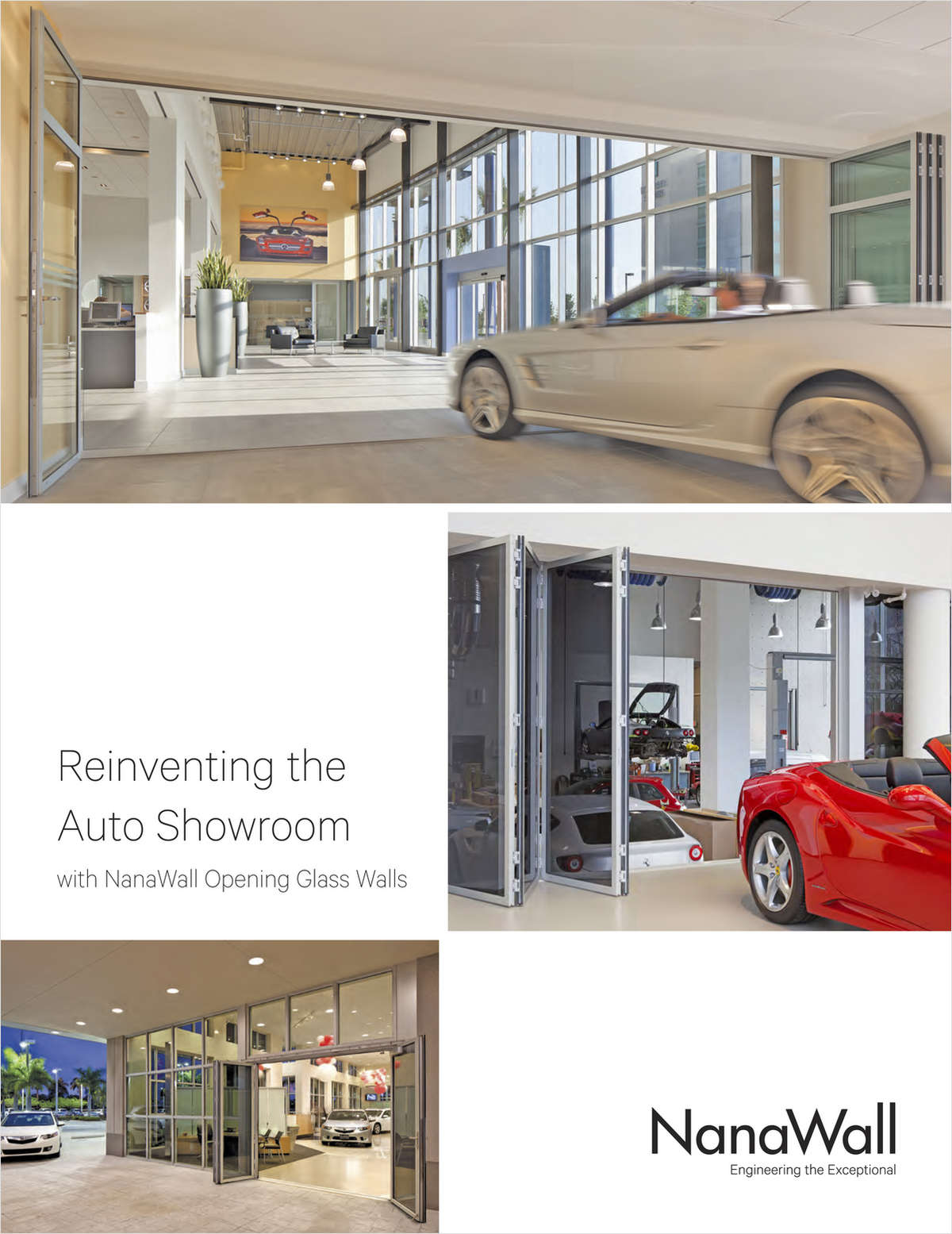 Reinventing the Auto Showroom with NanaWall Opening Glass Walls