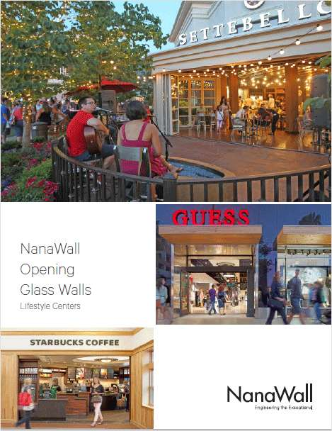 Beyond Conventional:  Using Opening Glass Retail Storefronts to Eliminate Barriers