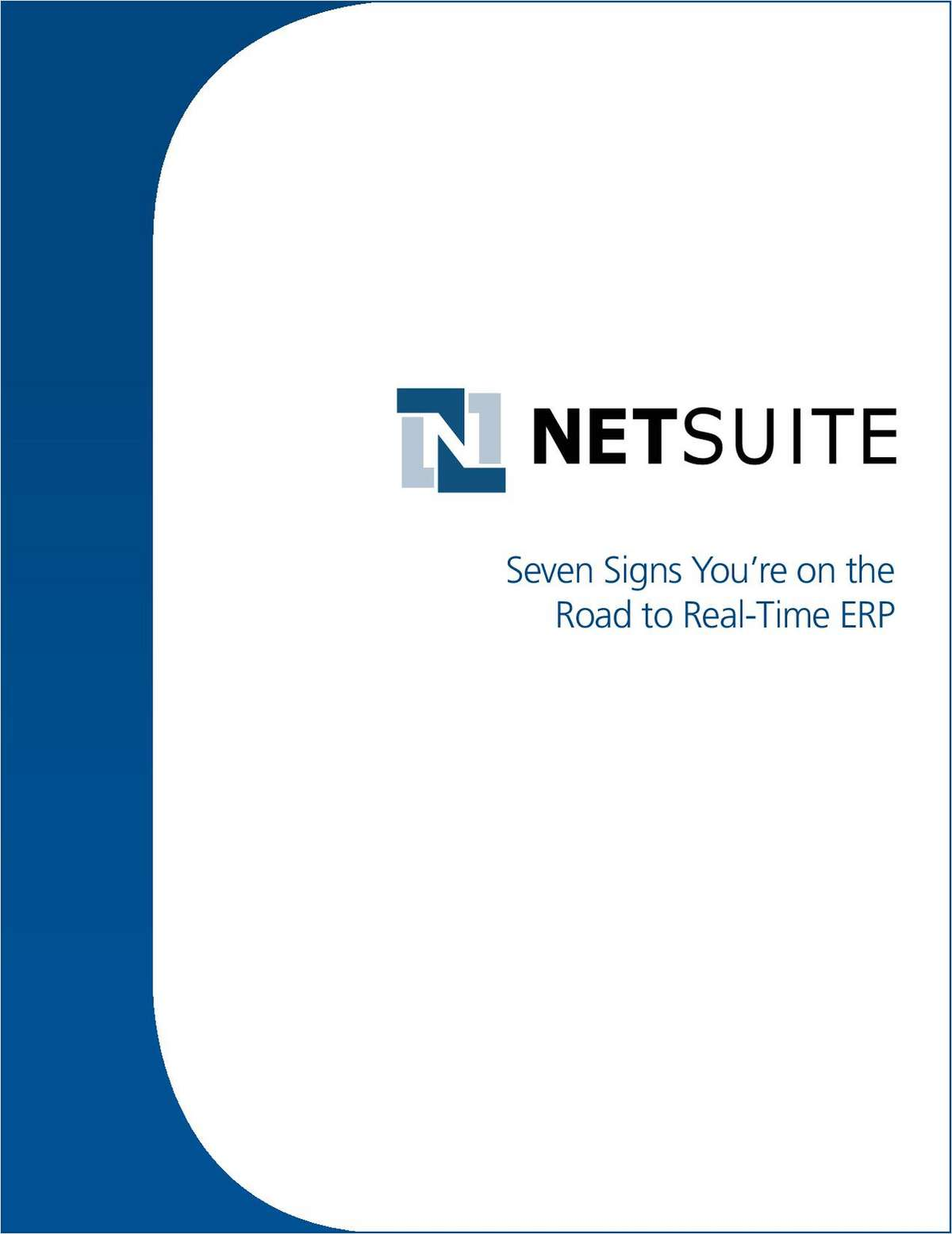 Seven Signs You're on the Road to Real-Time ERP