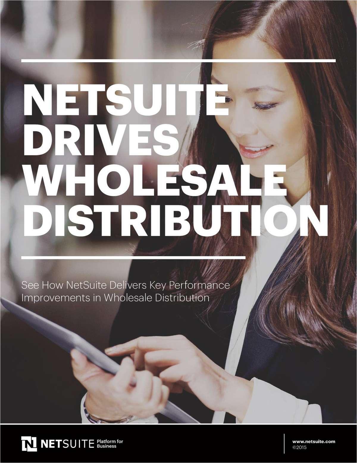 NetSuite Drives Wholesale Distribution