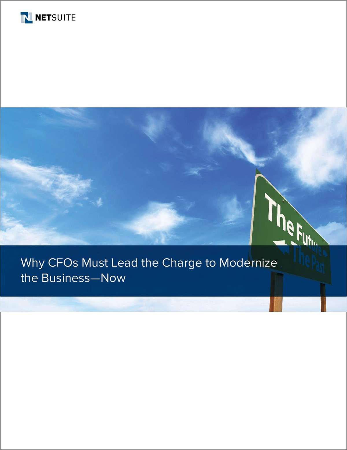 Why CFOs Must Lead the Charge to Modernize Business – Now