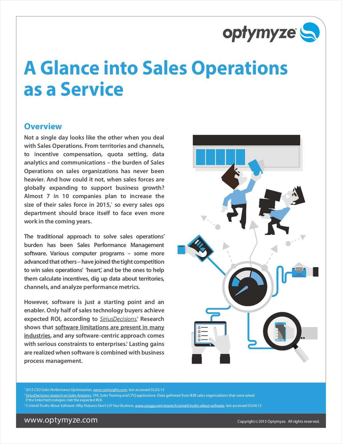 A Glance into Sales Operations as a Service