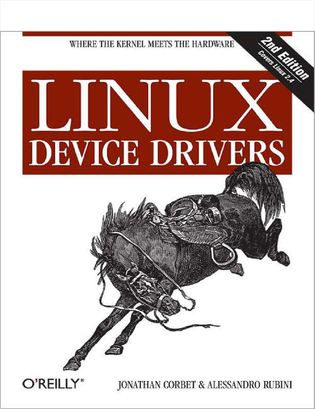 Linux Device Drivers, 2nd Edition -- Free 525 Page eBook