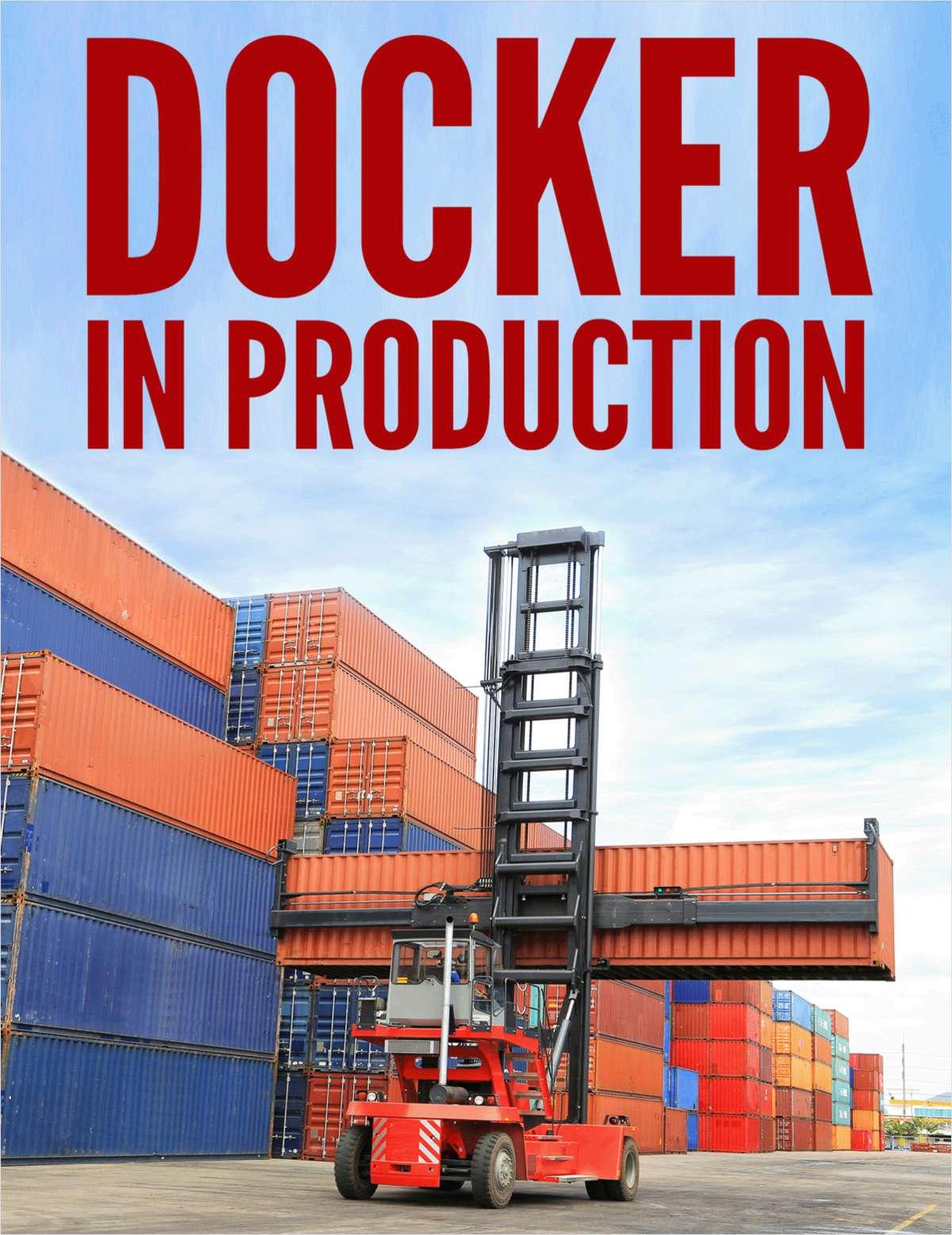 Docker in Production