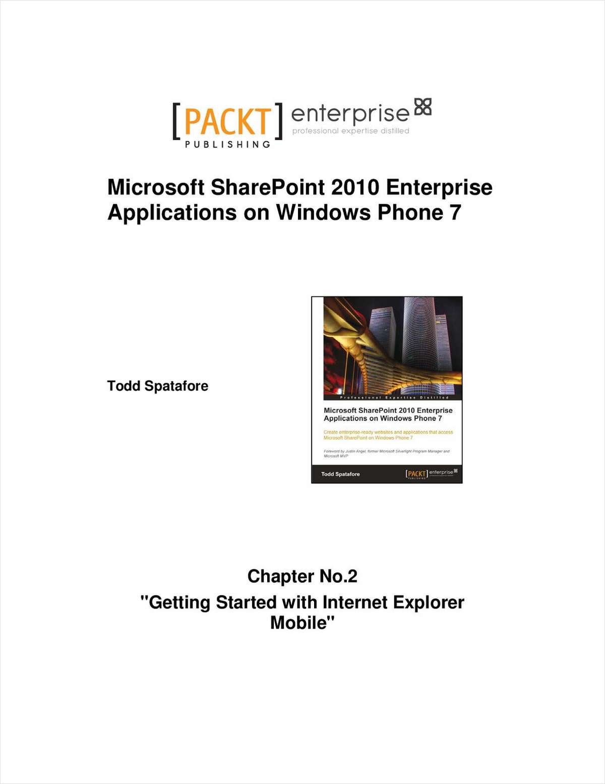 Getting Started with Internet Explorer Mobile