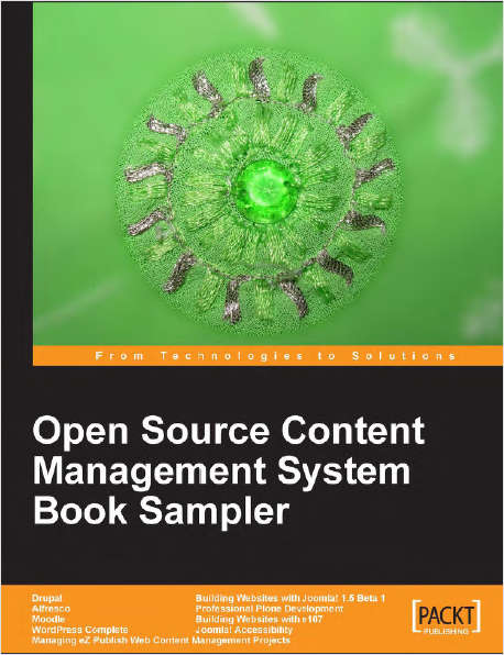 Open Source Content Management System Book Sampler - Free 277 Page Sampler