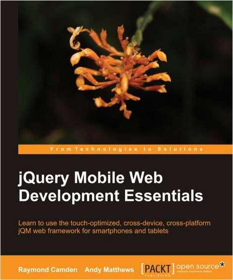 jQuery Mobile Web Development Essentials--Free 25 Page Excerpt