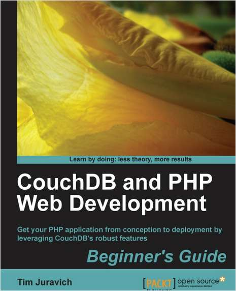 CouchDB and PHP Web Development Beginner's Guide--Free 26 Page Excerpt
