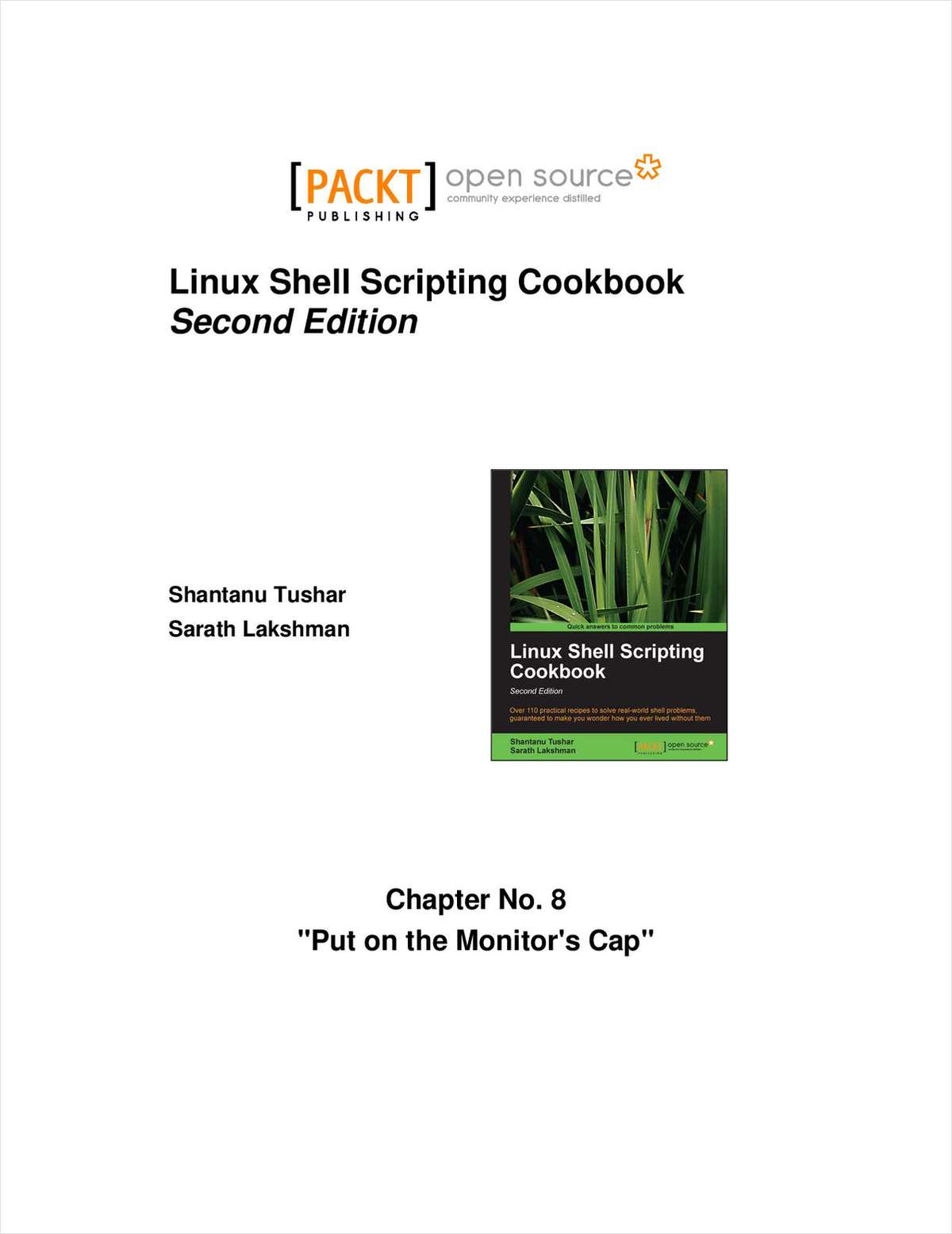 Linux Shell Scripting Cookbook, Second Edition--Free 40 Page Excerpt