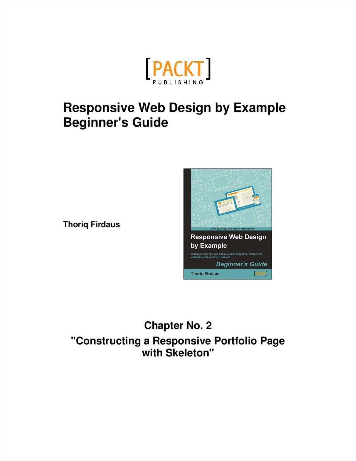Responsive Web Design by Example--Free 33 Page Excerpt