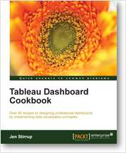 Tableau Dashboard Cookbook: Chapter 1 - A Short Dash to Dashboarding!
