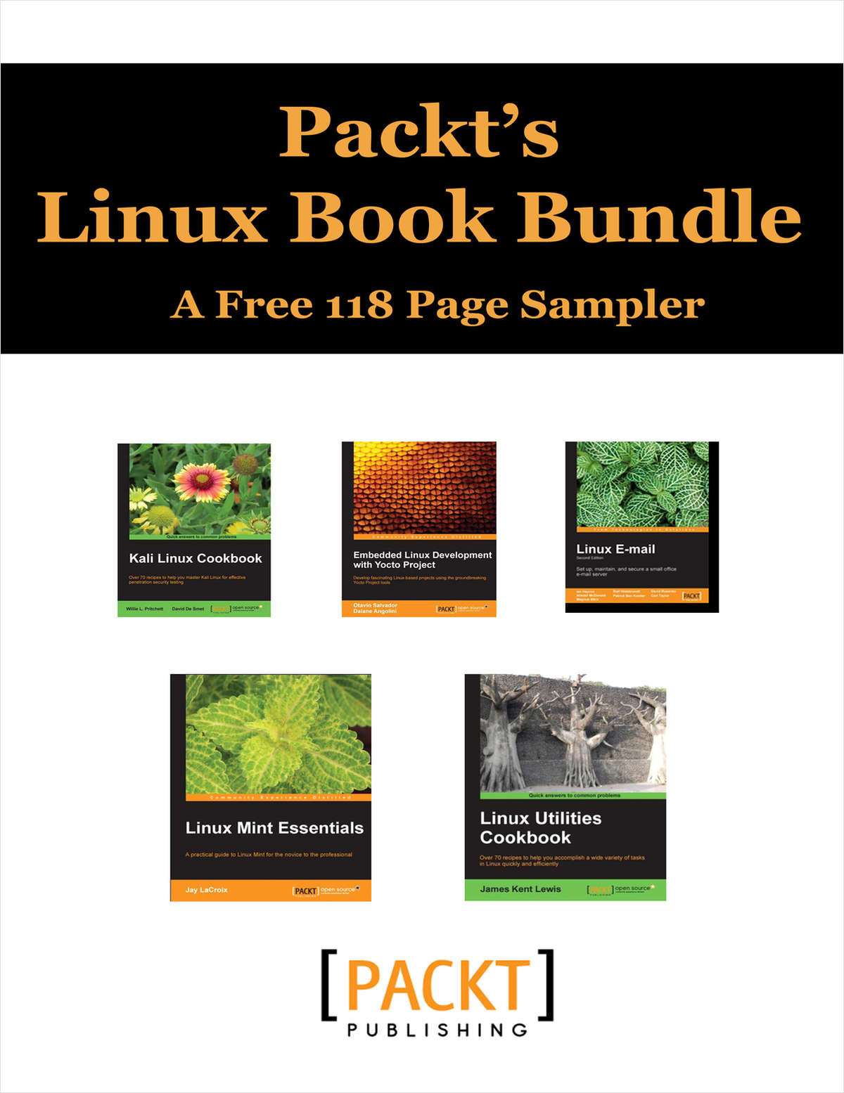 Packt's Linux Book Bundle -- A Free 118 Page Sampler