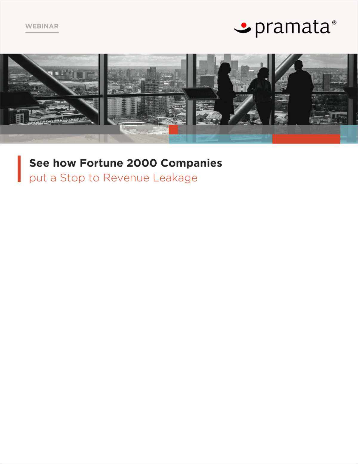 [Webinar] See how Fortune 2000 Companies put a Stop to Revenue Leakage