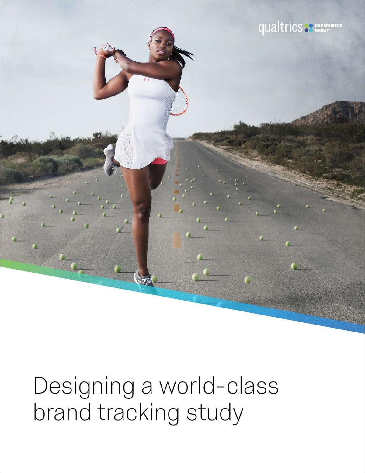 Designing a World-Class Brand Tracking Study