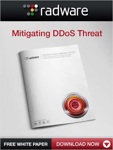 Mitigating the DDoS Threat