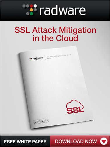 SSL Attack Mitigation in the Cloud