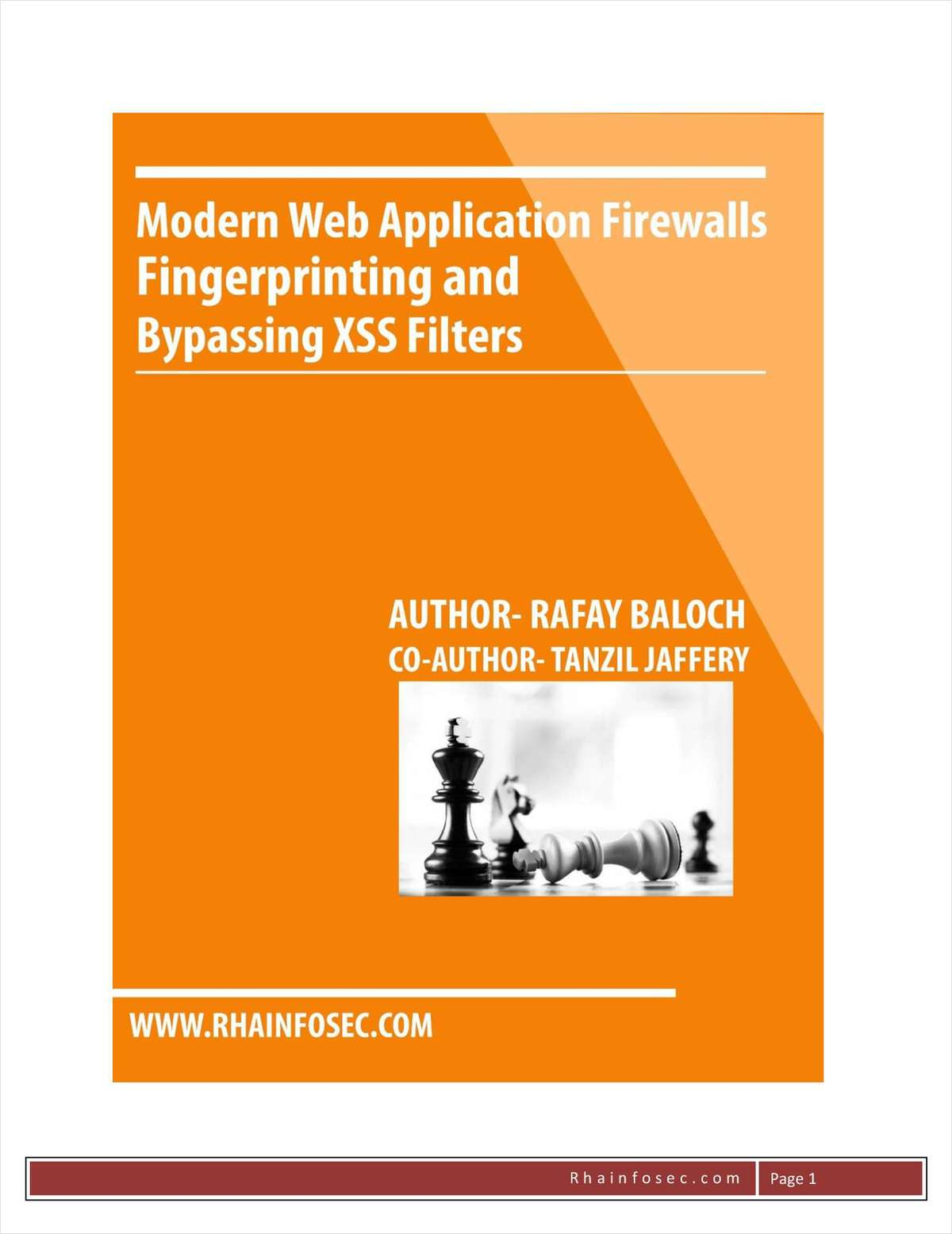 Modern Web Application Firewalls Fingerprinting and Bypassing XSS Filters