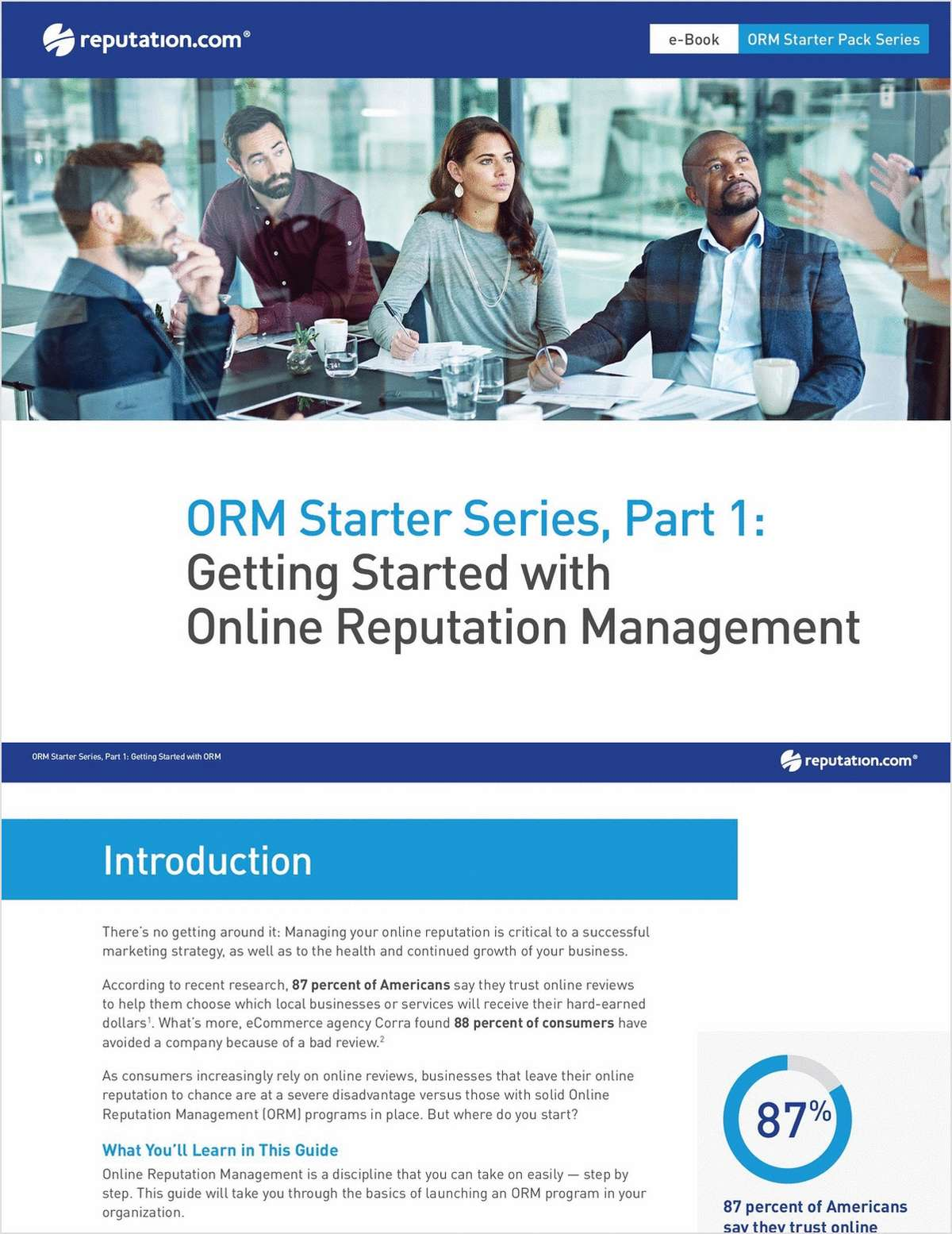 Getting Started with Online Reputation Management