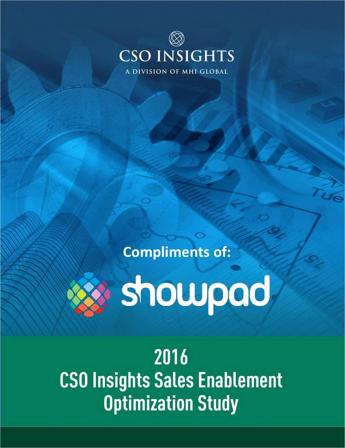CSO Insights: Sales Enablement Optimization Study